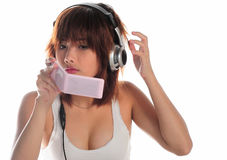 Very seductive young asian woman Stock Photography