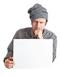 Very serious man. Royalty Free Stock Photography