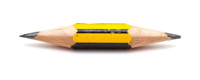 Very short pencil Stock Photo