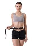 Very skinny girl Stock Image