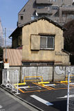 Very smaiil house in Tokyo, Japan Stock Photography