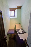 Very small cell in an old prison Stock Photos