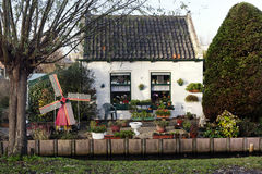 Very small Dutch house Royalty Free Stock Photo