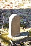 Miniature headstone Stock Photography