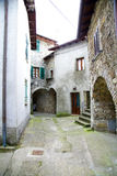 Very small medieval italian village Royalty Free Stock Photos