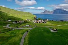 Village in Faroe called Gjóvg in Eysturoy.