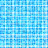 Very small tiles in shades of green and blue Royalty Free Stock Image
