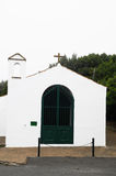 Very Small White Church Royalty Free Stock Images