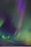 Auroras over the lake 7 Stock Photos