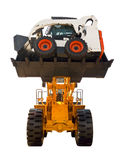 Very strong bulldozer Stock Images