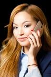 Very stylish young asian businesswoman. Stock Photo