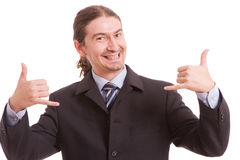 Very Successful man Royalty Free Stock Photo
