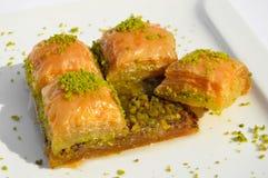 Very sweet pistachio baklava Royalty Free Stock Images