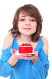 Very tasty cake Royalty Free Stock Photo