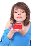 Very tasty cake Royalty Free Stock Image