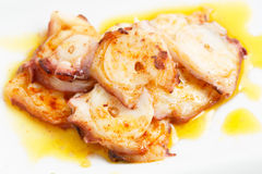 Very Tasty Galician Style Octopus - Spanish Dish Stock Images
