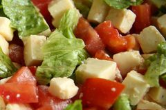 Very tasty salad for lunch. Healthy Eating. Tasty salad for lunch. Healthy Eating Stock Photography