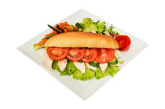 Very tasty sandwich Royalty Free Stock Photography