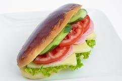 Very tasty sandwich Stock Photo