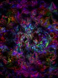 Very Trippy texture royalty free illustration