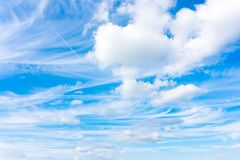 Very unusual clouds Stock Photos