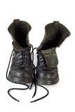 Very used boots Royalty Free Stock Images
