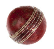 Very used cricket ball Royalty Free Stock Photos