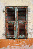 Very weathered old shutter Royalty Free Stock Photography