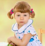 Very young girl Stock Photos
