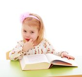 Very young little girl Royalty Free Stock Photos