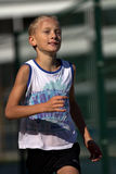 Very young runner Royalty Free Stock Photography