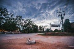 Verzacht het dorp is stil en vreedzaam royalty-vrije stock foto