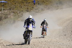 Verzameling DAKAR Argentinië - Chili 2010 Stock Foto's