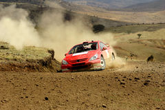 Verzameling Mexico WRC 2004 Stock Foto's