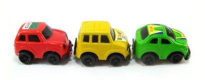 Verzameling toycars royalty-vrije stock foto