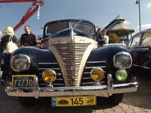Verzameling van oude auto's Stock Afbeelding