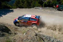 Verzameling van Turkije. WRC Royalty-vrije Stock Foto