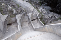 Verzasca_dam_alternative_energy Royalty Free Stock Photography