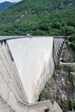 Verzasca dam near Locarno, Switzerland. Stock Photos