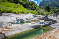 Verzasca River Royalty Free Stock Photography
