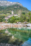 Verzasca Valley - Church Stock Images