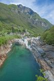 Verzasca Valley,Ticino Canton,Switzerland Royalty Free Stock Photo