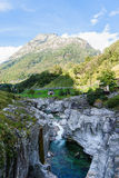 Verzasca valley Ticino Switzerland Stock Photo