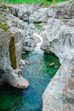 Verzasca valley Ticino Switzerland Royalty Free Stock Photography