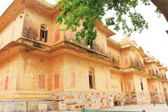 Verzauberndes Nahargarh-Fort Jaipur Indien Rajasthan Stockfoto
