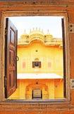 Verzauberndes Nahargarh-Fort Jaipur Rajasthan Indien Stockbilder
