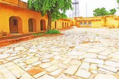 Verzauberndes Nahargarh-Fort Jaipur Rajasthan Indien Stockfotografie