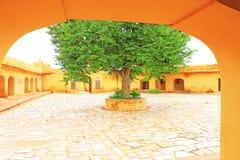 Verzauberndes Nahargarh-Fort Jaipur Rajasthan Indien Stockbild