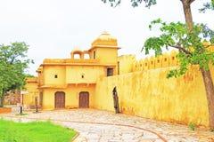 Verzauberndes Nahargarh-Fort Jaipur Rajasthan Indien Lizenzfreies Stockfoto