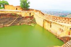 Verzauberndes Nahargarh-Fort Jaipur Rajasthan Indien Lizenzfreie Stockfotografie